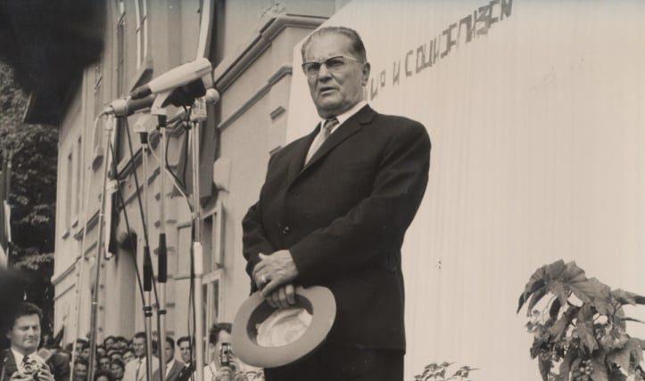 Josip Broz Tito; Foto: Wikimedia Commons / Istorijski arhiv u Pirotu